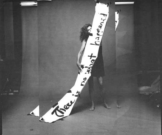 Marie Howe. Photo by Bill Hayward, 1997, from the Bad Behavior series. Courtesy of Bill Hayward.