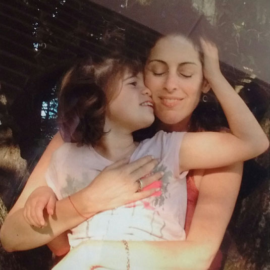 Rachel with her daughter, Bella Dori