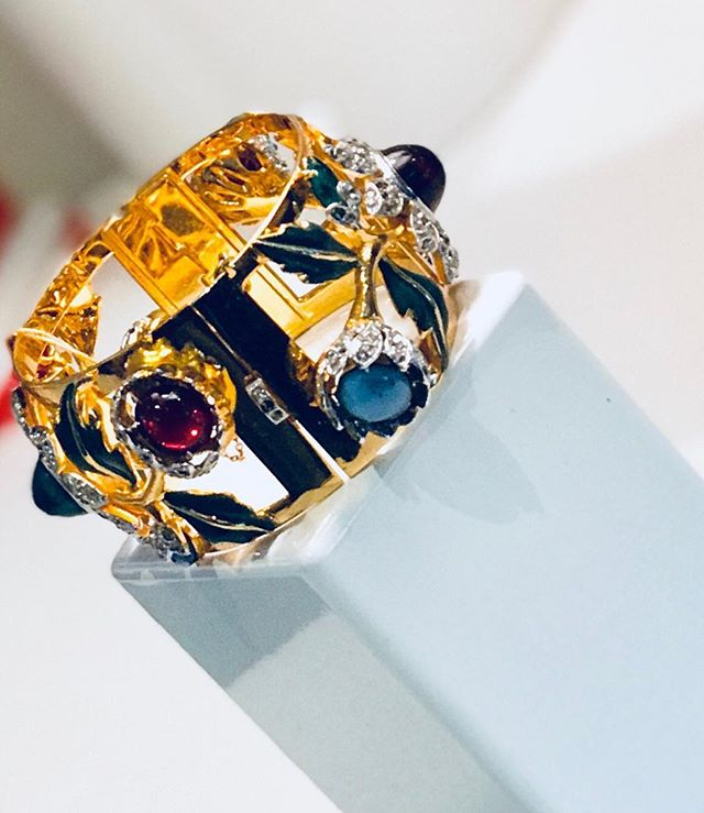 1950's vintage cuff bracelet