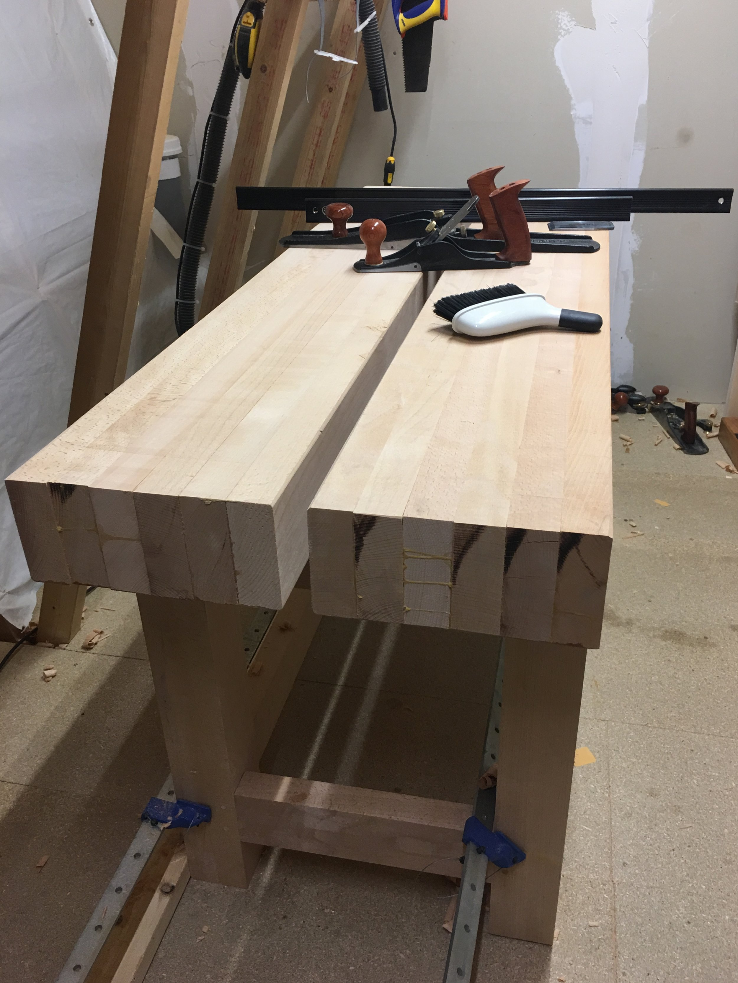 The Top after a rough flattening.