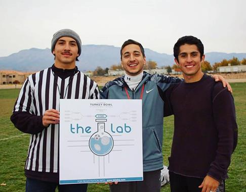 nov. 26 2016: our first official day of running our business  (Left to right) Kevin Herrera, Jacob Garcia, Vincent Aragon