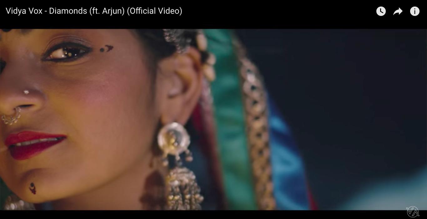 Aakansha Maheshwari featured on Vidya Vox's original sound track- 'Diamonds' shot in Joshua Tree. Directed by Shankar Tucker.