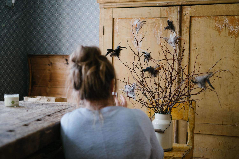 Jag och Nina fotograferade påskbilder för  Äkta hem . Nina är för övrigt en fin bekantskap jag fått 2017.