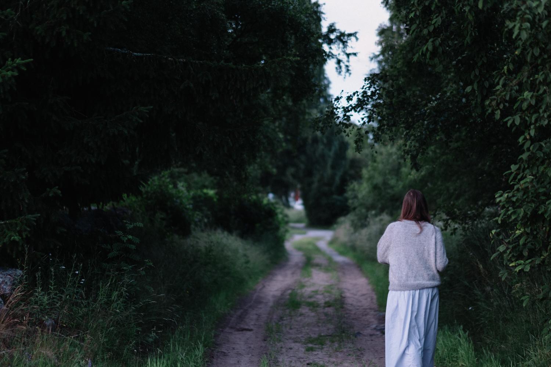 ... och många var de kvällar när jag och Amanda tog kvällspromenader.