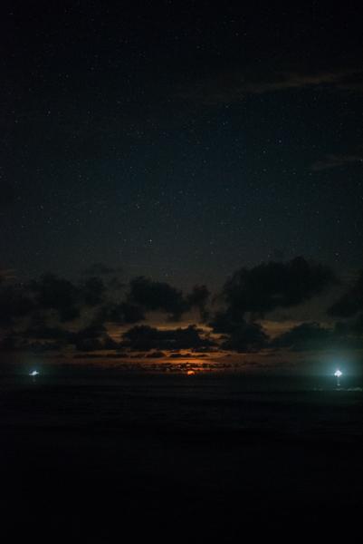 Lighting the horizon