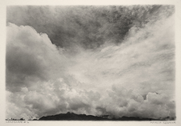 Landscape #15 | photograph by Maria Resnick