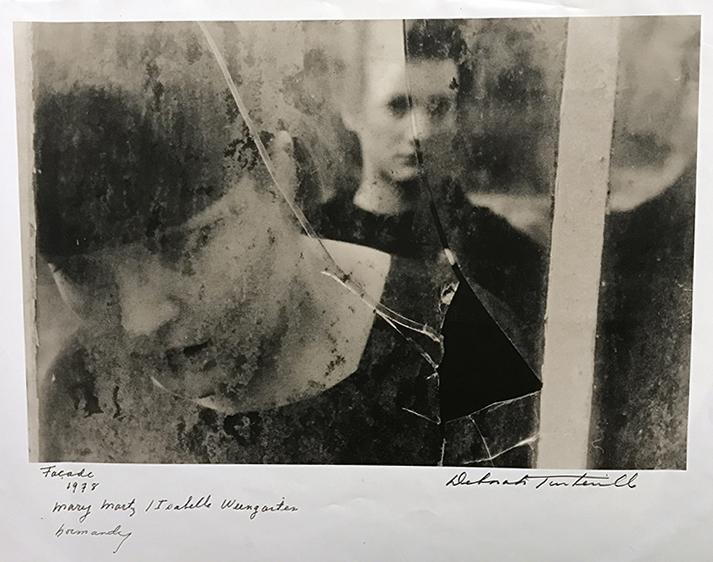 Façade/Mary Martz & Isabelle Weingarten, Normandy, 1978 | photograph by Deborah Turbeville