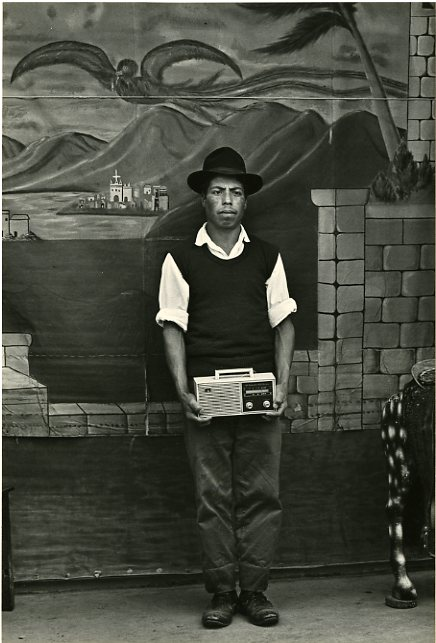 Portrait of Man with Radio, San Marcos