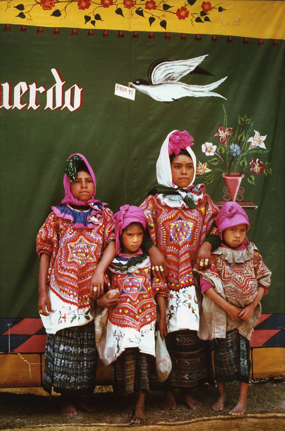 Sisters Dressed for Annual Fair, Barillas