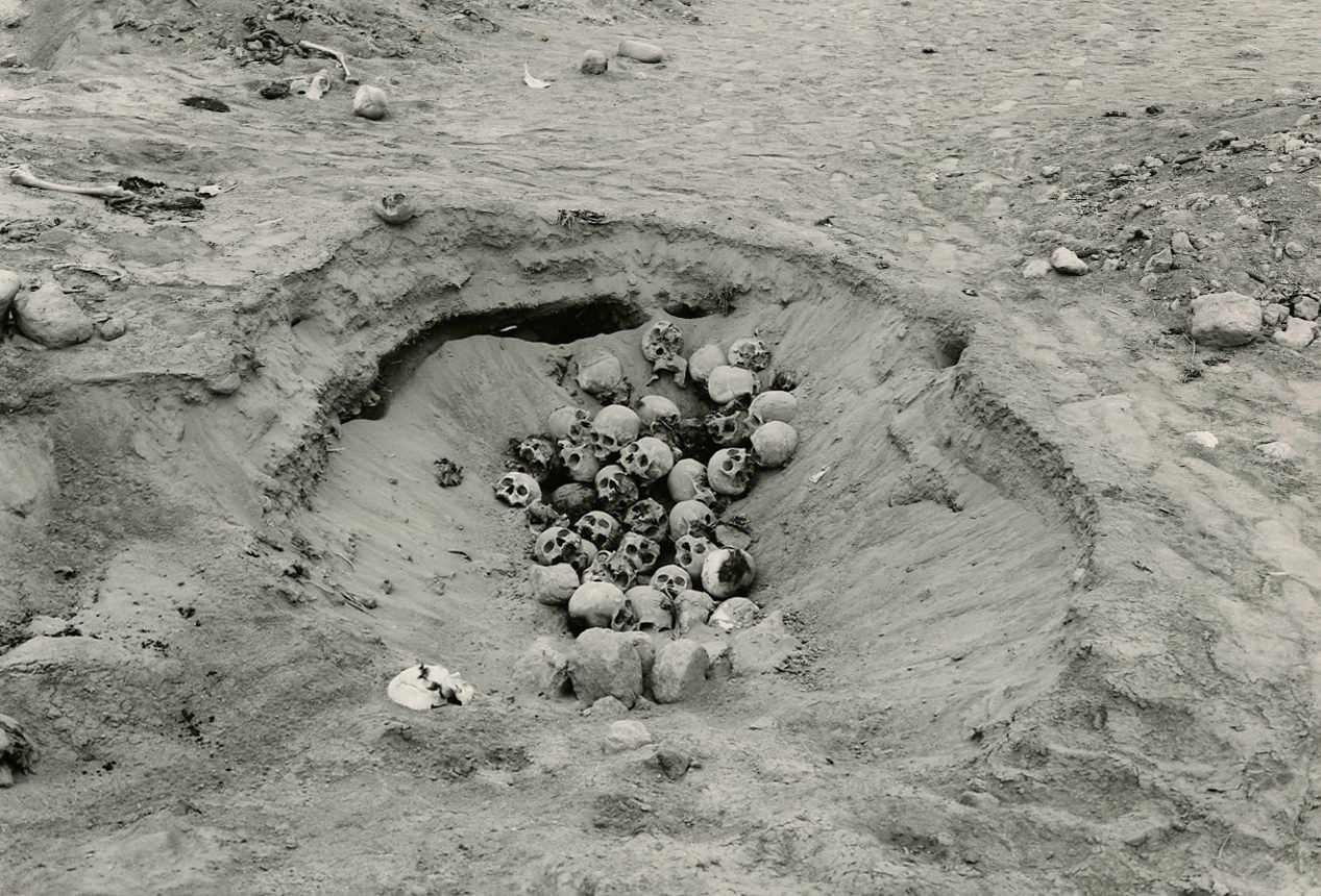 Looted Cemetery, la Malena, Asia Valley | photograph by Edward Ranney