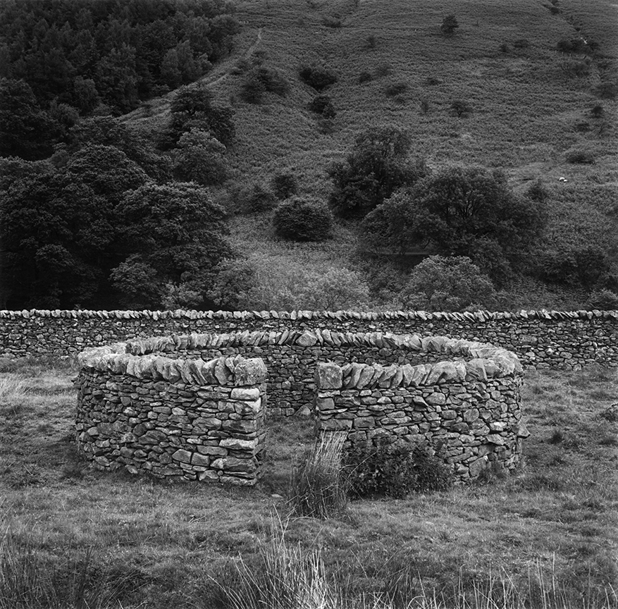 Jack's Fold (Andy Goldsworthy's Sheep Fold, Barbondale, Cumbria, England