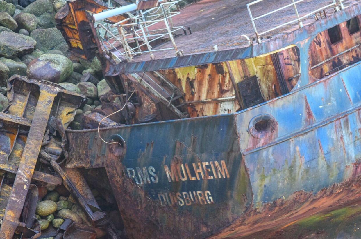 RMS Mulheim Sennen Lands End