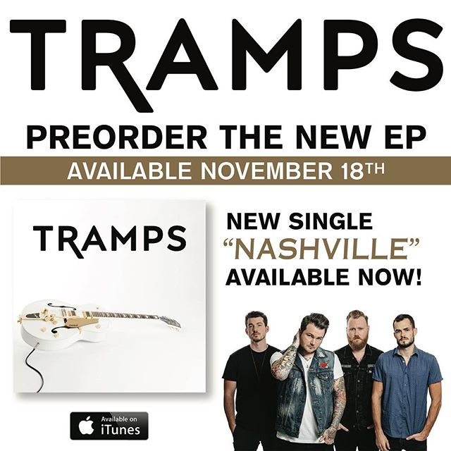 "Pre-order is LIVE! Order the new EP, and get ""Nashville"" now! Link in our bio."