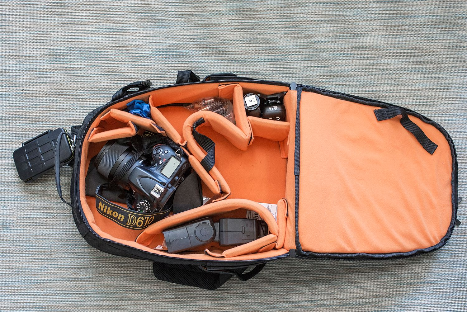 A review of Amazon Basics DSLR and Laptop Backpack. | Denver Family Photographer