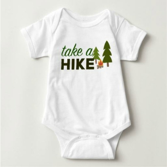 Cute woodland baby onesie for baby shower gift...mountain-themed-baby shower gift.
