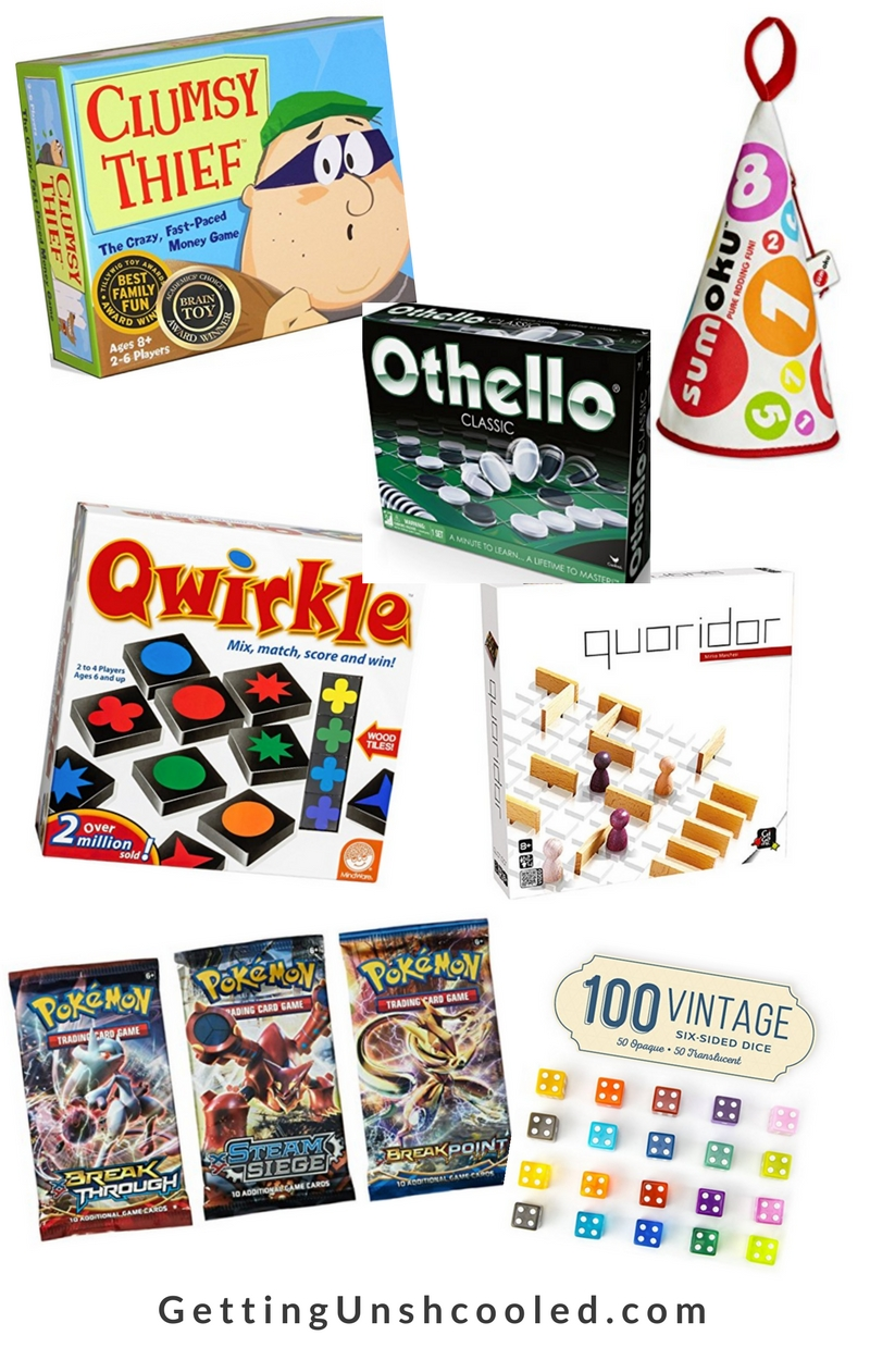These are all awesome games to get kids practicing math while having fun! | 8 games to learning math the fun way on GettingUnschooled.com | #homeschool #unschooling