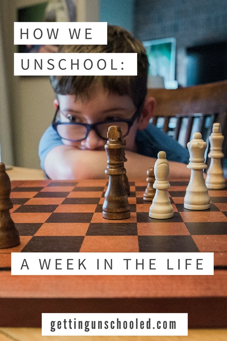 This is unschooling: A week in the life! | Getting Unschooled is a blog about unschooling and roadschooling our two kids in Denver, Colorado.