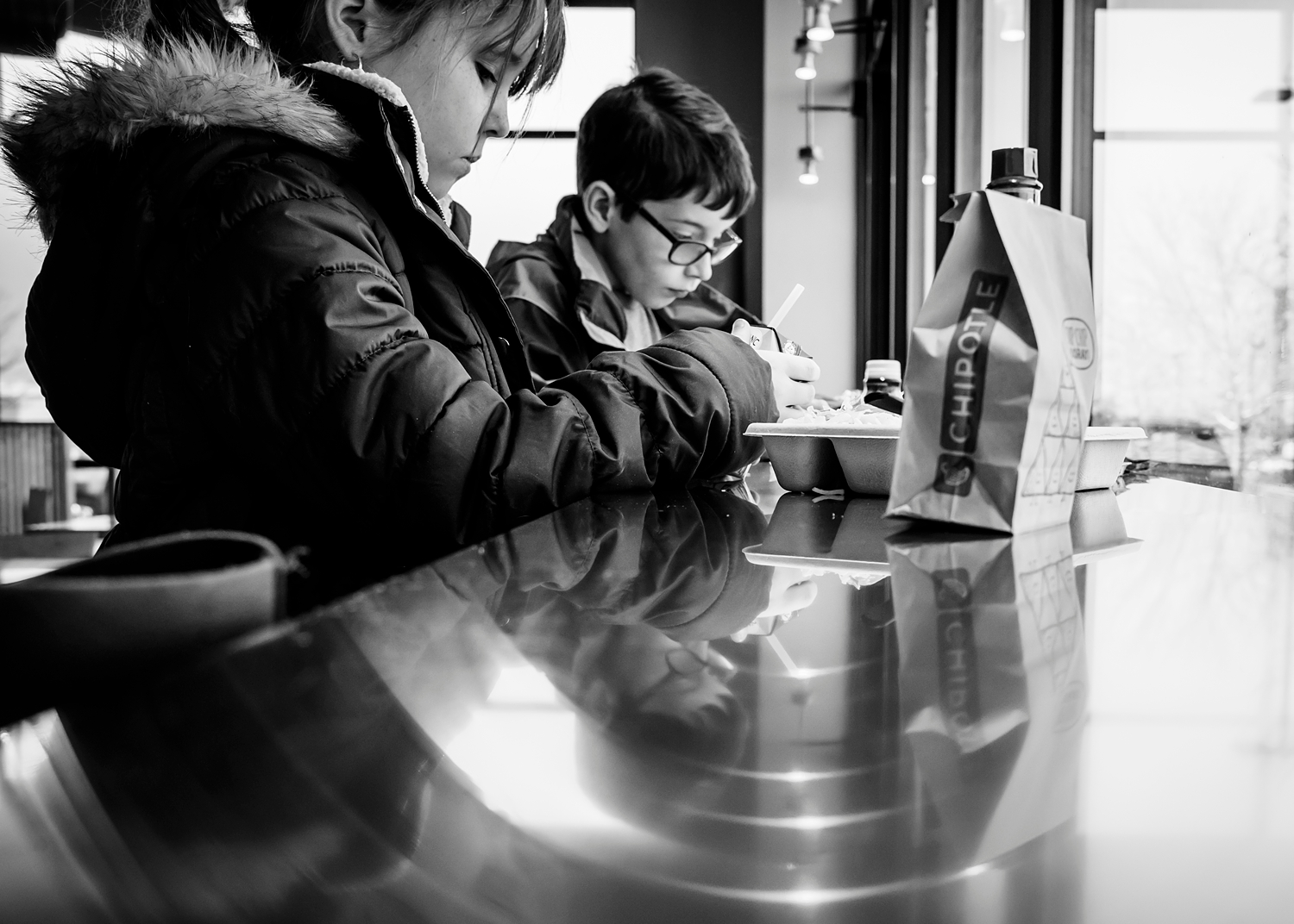 Our weekly Chipotle date between Kate's dance classes. |Getting Unschooled is a family lifestyle blog about unschooling, over-40 style, and non-toxic beauty. Thanks for pinning!
