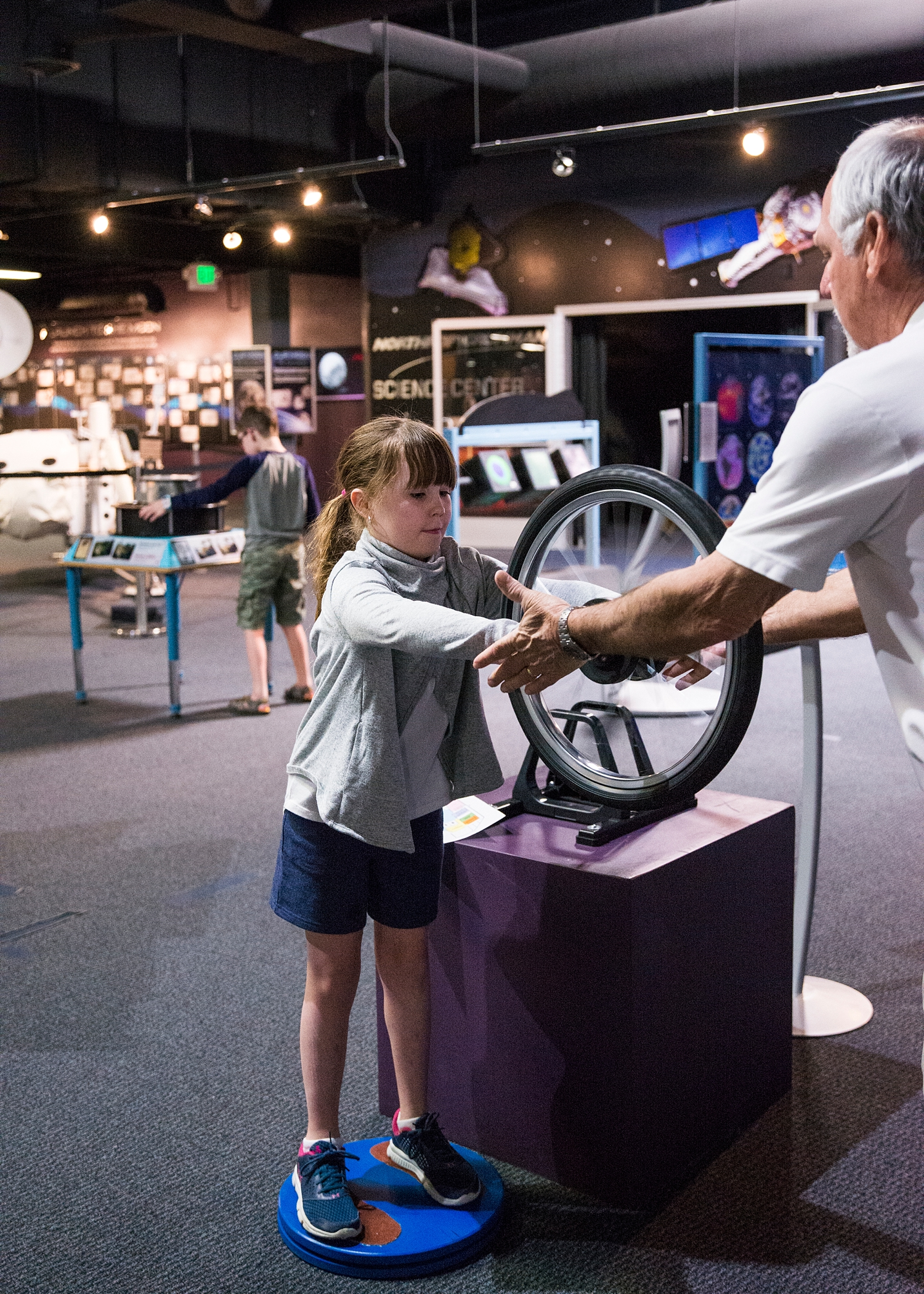 Fun at the Space Foundation Discovery Zone--more from our Week in the Life of an Unschooler is on the blog :)