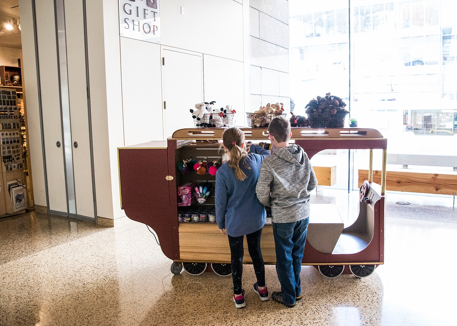 The gift shop is always popular ;)   Week in the Life of an Unschooler   Unschooling Curriculum