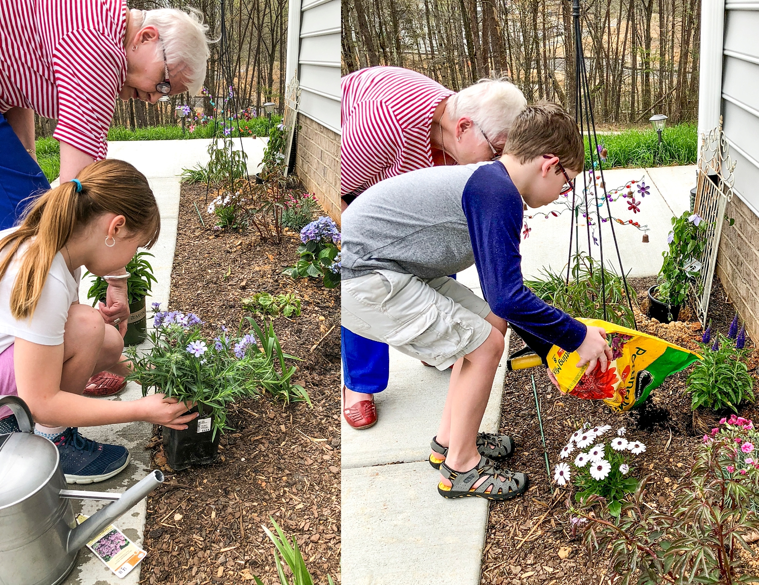 Exposing your kids to older generations is another important way to unschool kids. There is so much wisdom and advice that can be gained from spending time with grandparents, great aunts or uncles, or family friends. Exposing kids to different people is a goal of our unschooling our children.