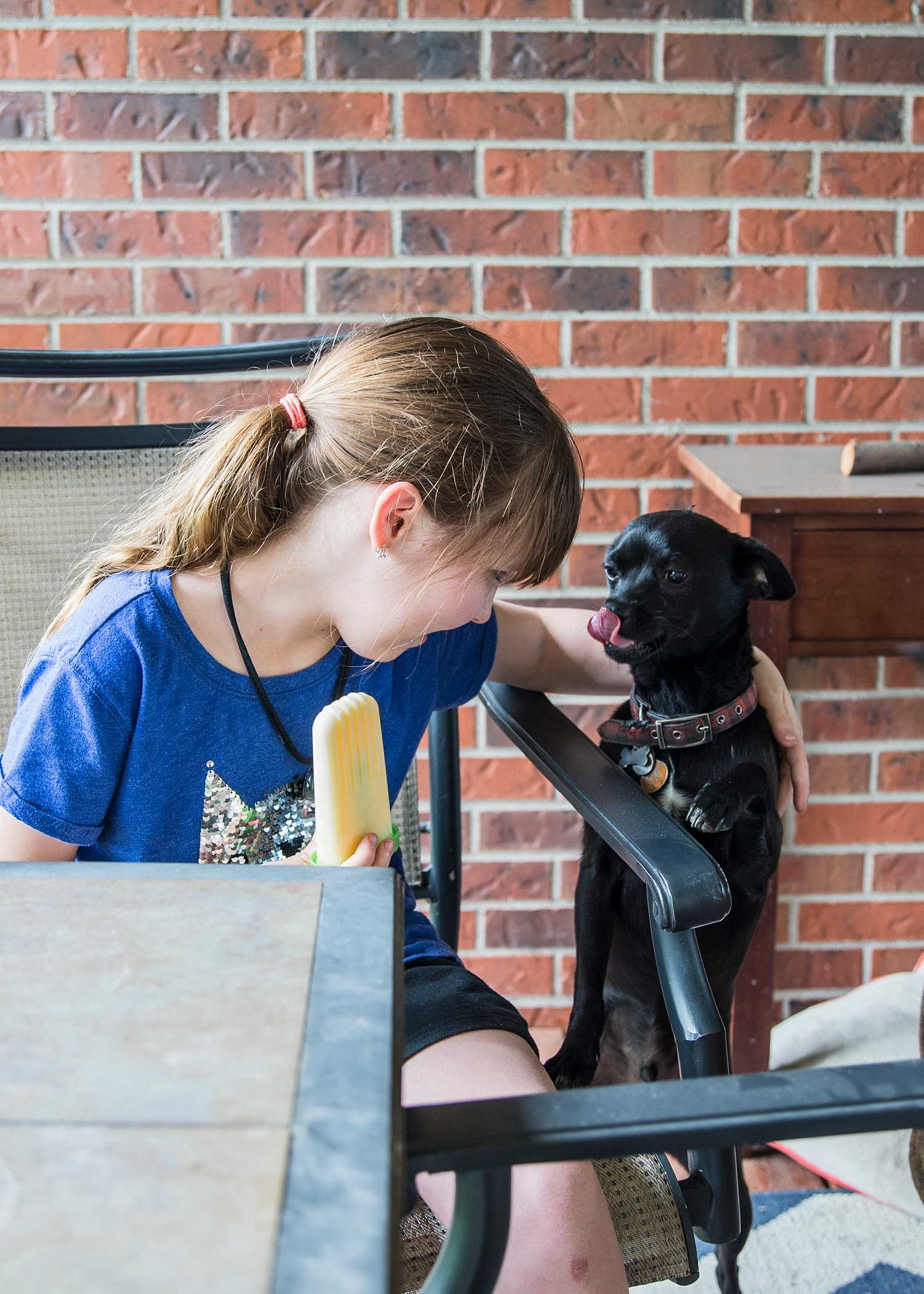 Keeping the dogs away from her homemade creamsicles is part of her job LOL.  Why homeschooling is good is something we try to show in our Week in the Life of an Unschooler series :)  Homeschooling isn't just good for kids--it's the best!  :)