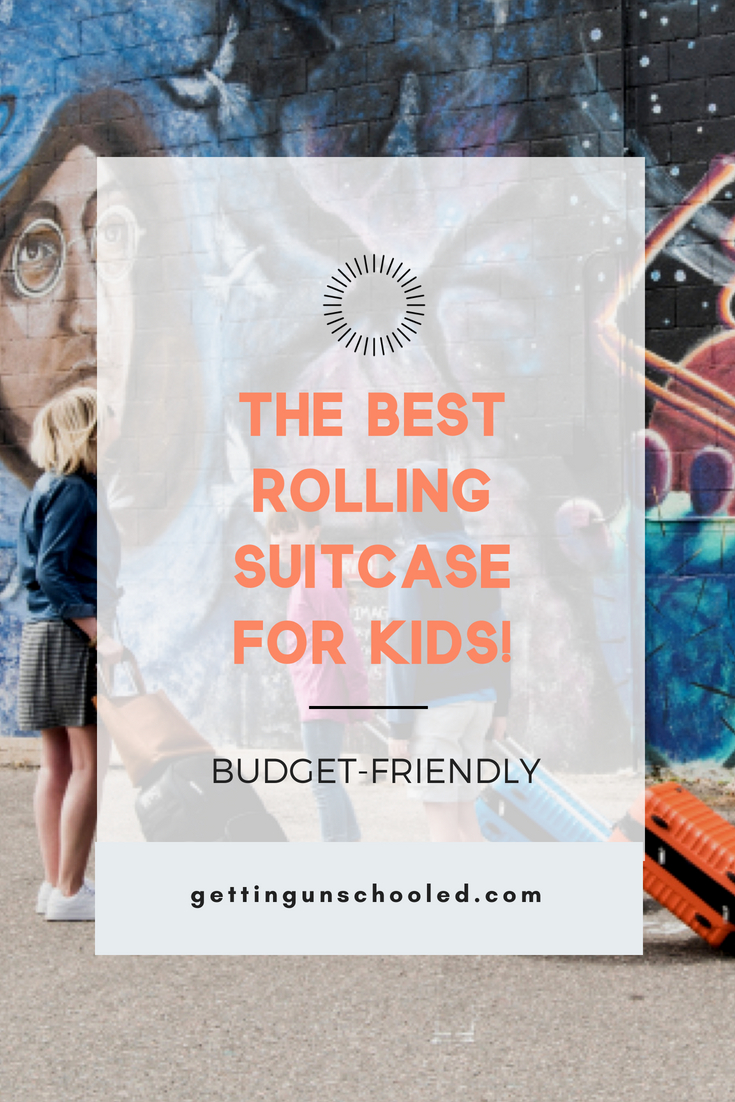 Traveling with kids this summer?  Or are you in need of a great rolling suitcase carryon for your weekend getaway?  Check out the AmazonBasics Hard Side Suitcase--under $50 and great quality!!  More on the post :) :)
