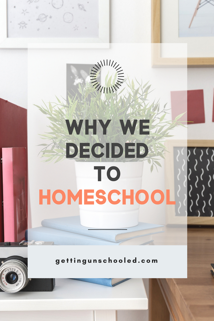 There are lots of good reasons to homeschool your kids--for us, it was about saving our son. Homeschooling has been the most incredibly fulfilling decision we've ever made in our family! Come see why we decided to homeschool :) #homeschooling #unschooling #lifeschool