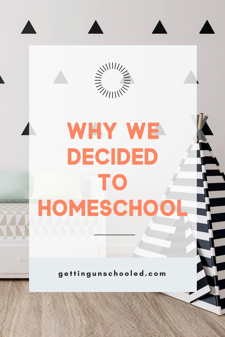 Why we decided to homeschool our two very different kids is up on the blog today! | GettingUnschooled.com | #homeschool #dyslexia #specialneeds #unschooling #denver #colorado