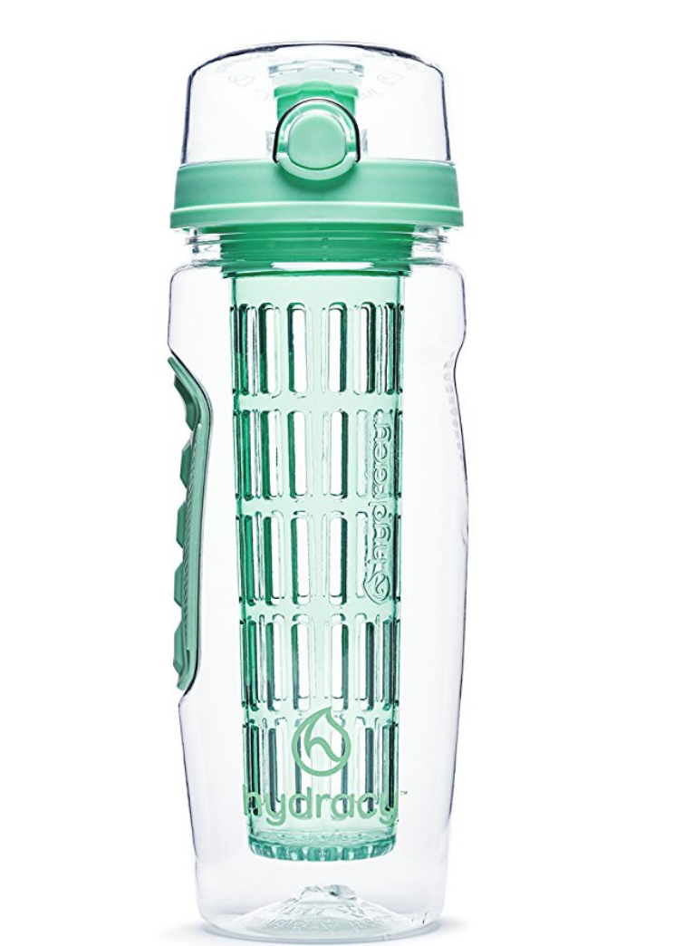 This is another idea that I want to steal from this list of gifts for 11-year-old girls. Infused water--to go! Perfect for a hot summer day.