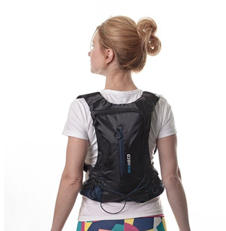 This camelbak backpack water bottle is highly reviewed and many said it was a great size for kids. Our soon to be 11-year-old has been asking for one for ages. She'll be so excited to finally have one for herself!