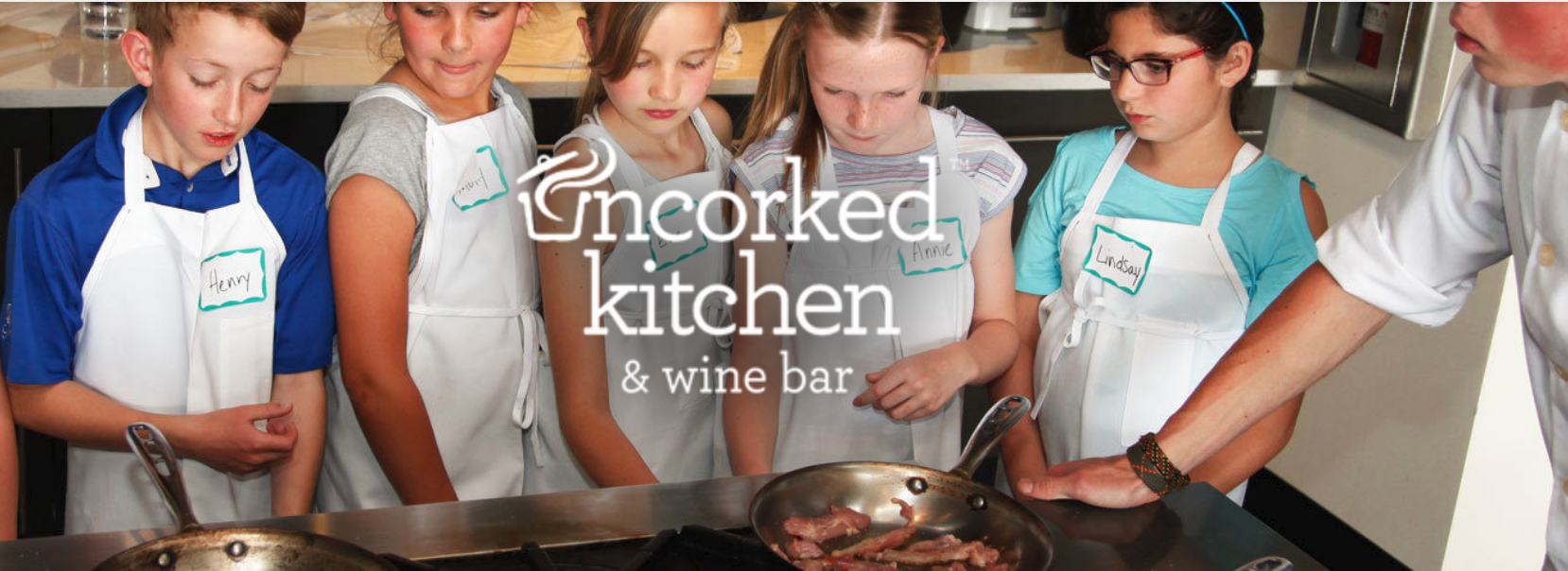 Uncorked Kitchen is an example of a cooking school for kids here in Colorado. Check Yelp or google for ideas in your home town!