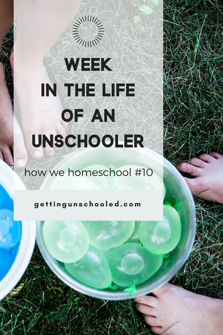 "Another roundup of how we homeschool is up on the blog today-our tenth installment of the ""Week in the Life of an Unschooler"" series.  We traveled to Austin and tried to stay cool as June was a hot one in Denver!"