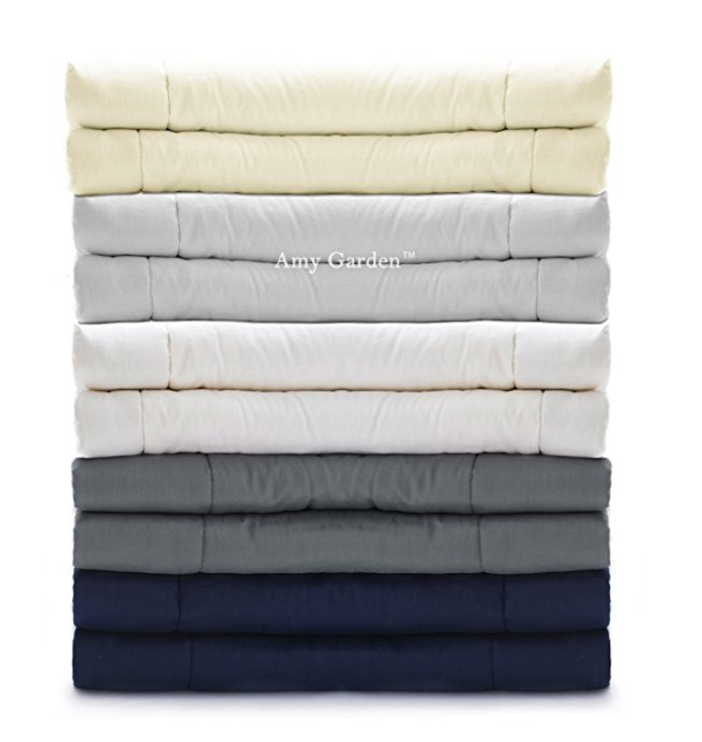 amy garden weighted blanket for anxiety from Amazon