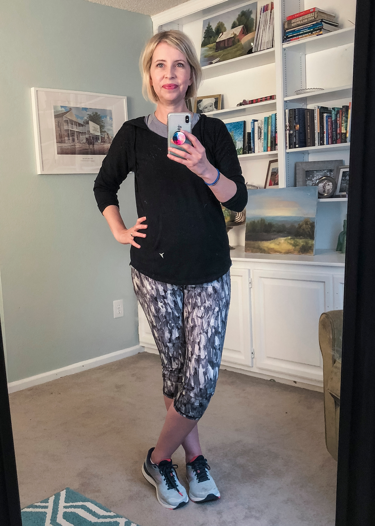 women's fashion and style over 40 workout clothes what I wore last week