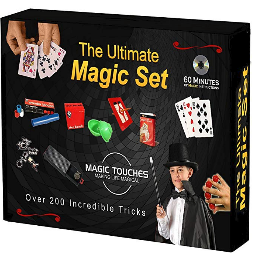 cool magic trick set for 11 year old girl or boy for christmas or birthday