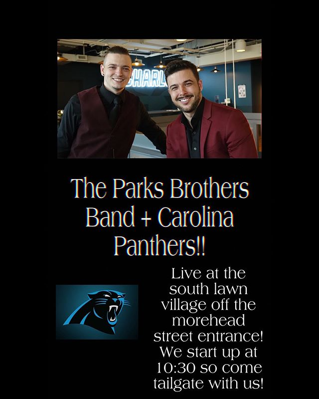 We are honored and extremely excited to announce that we will be part of the @panthers game day experience for multiple home games through December this year! We will be in a different location inside the gates every week so tune back in here weekly to see where we'll be on game days!  This week vs LA Rams: 10:30-12:30 at south lawn village hospitality tent- Moorehead Street entrance  Go Panthers!