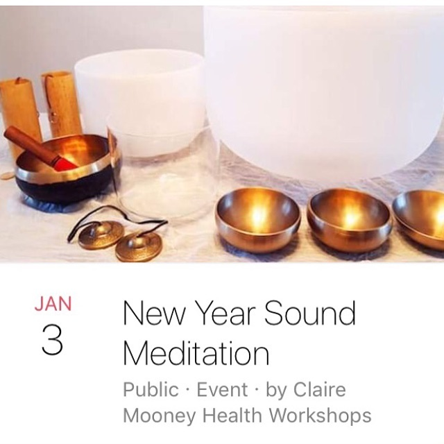 On Wednesday at Magnolia House join @venus.laurel for s special new year sound bath!! Tickets available through my website at event page!