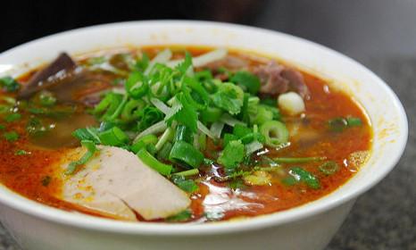 Spicy Beef Noodle (Bun Bo Hue)