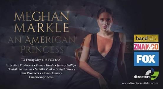 MEGHAN MARKLE - AN AMERICAN PRINCESS | 1x120' | FOX