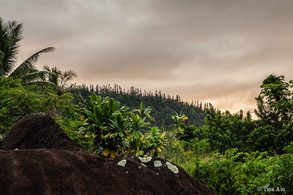 Photo: Maunawila Sunset. Courtesy of Tina Aiu.