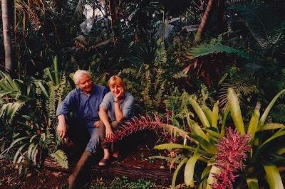 W.S. & Paula Merwin. Courtesy of The Merwin Conservancy.