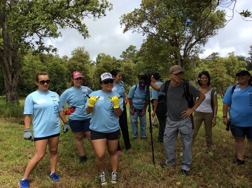 Volunteer Day at Pa'auilo, Hawai'i Island