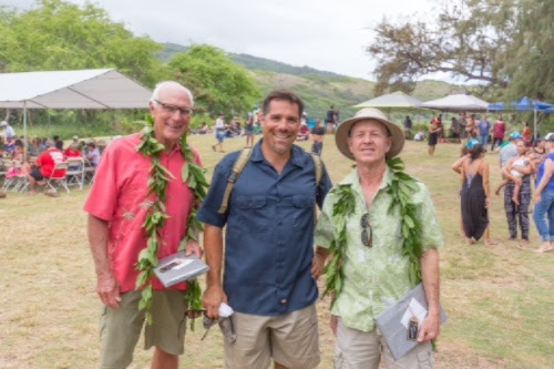 Mahalo nui loa to HILT volunteers Tommy Morris and Tom Huber!