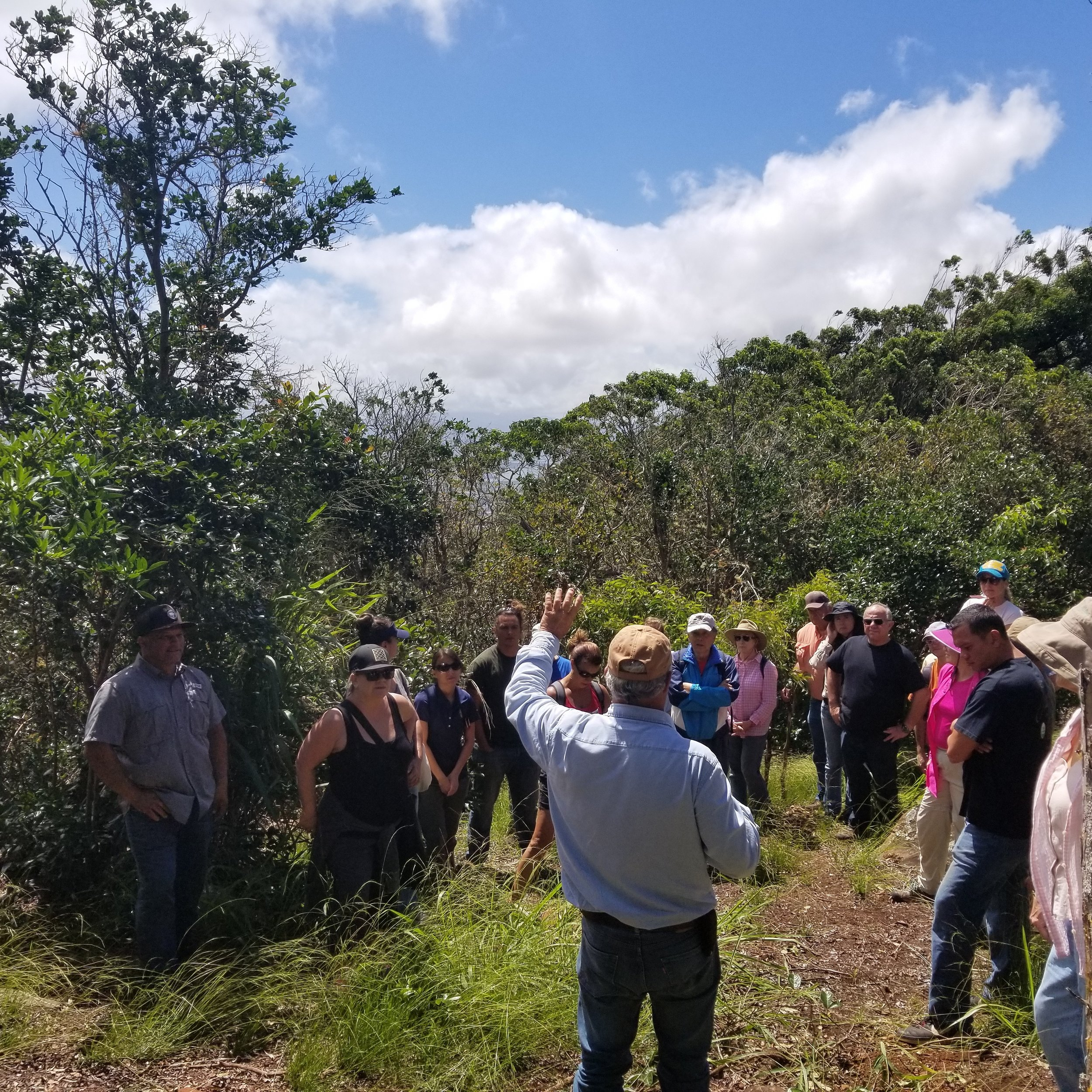 Landowner Outreach at Hokuloa Ranch, Palehua Oahu