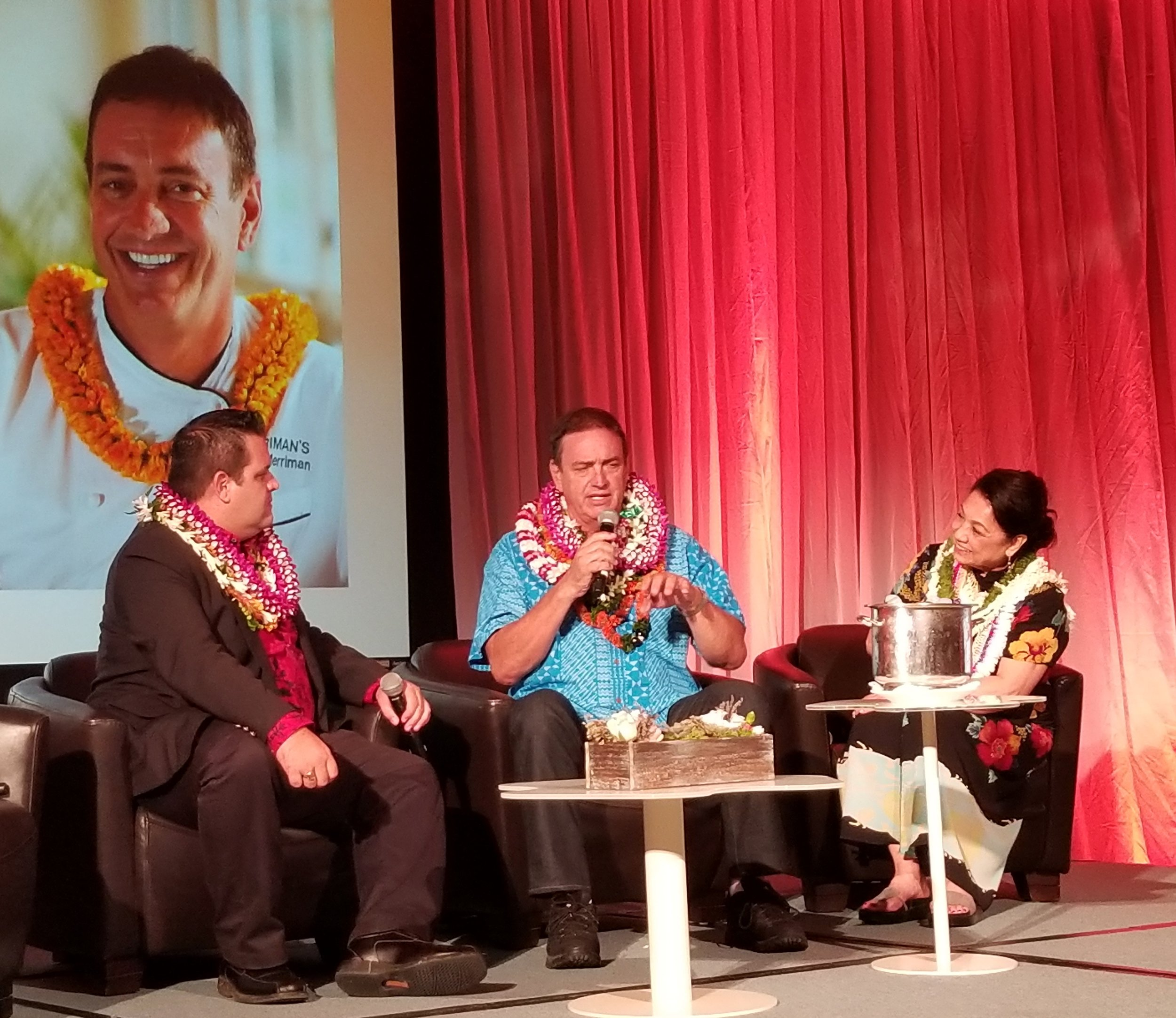 Peter Merriman at the Meeting Professionals International Aloha Chapter Award Dinner