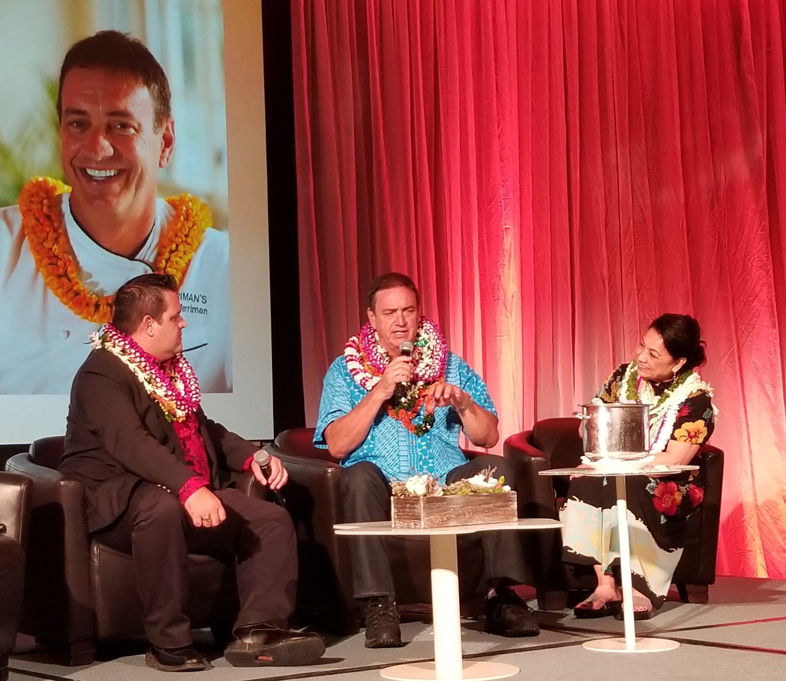 Peter Merriman at the Meeting Professionals International Aloha Chapter Award Dinner