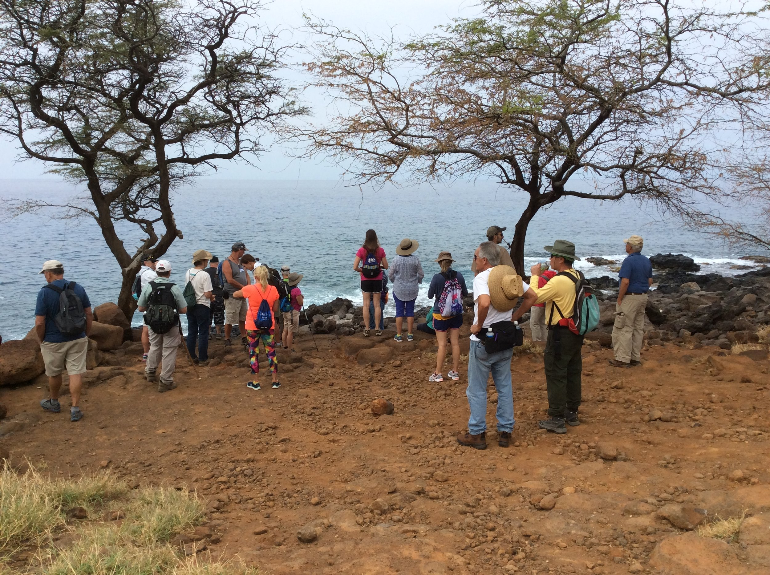Talk Story on the Land at Kaiholena, Kohala, Hawaii