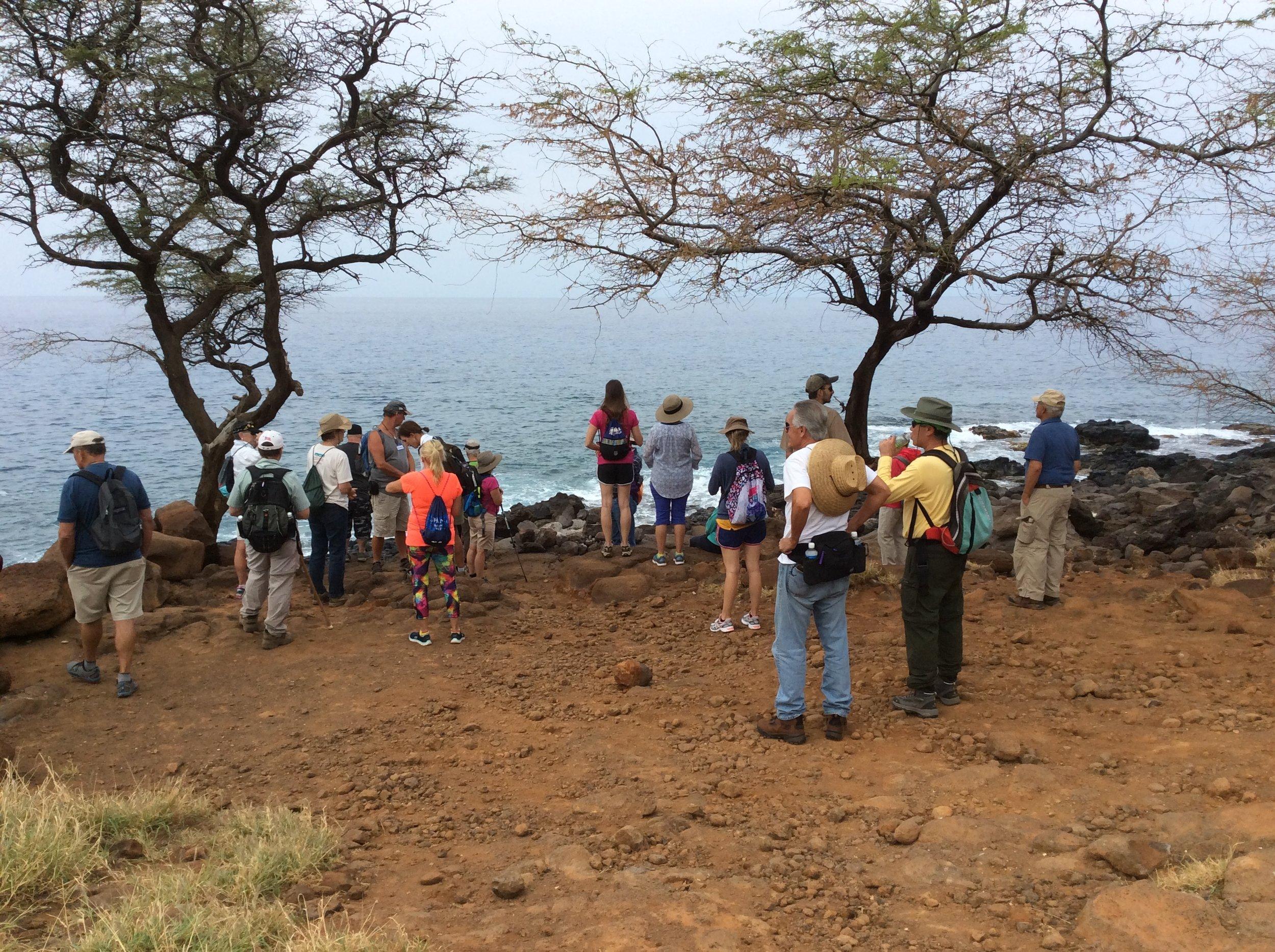 Talk Story on the Land at Kaiholena, Kohala, Hawaii