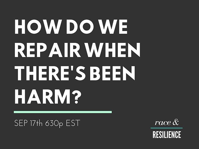 There's still time to sign up for today's Race & Resilience online master class with @skillinaction and @kkellyyoga! We're diving deep together on harm reduction and repair - registration info is at the link in our bio.  #Repair #Reparations #SpiritualBypass #Disrupt #FuckWhiteSupremacy #AntiRacism #Yoga #Mindfulness #Meditation #RadicalLove #LoveIsJustice #JusticeIsWhatLoveLooksLikeInPublic #YogaEveryDamnDay #SpiritualActivism #RacialJustice #Wellbeing #Wellness #LoveAndLight #Citizenship #Practice